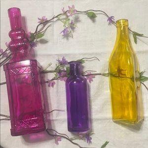 🌷🌻🌹 Glass bottles - 3